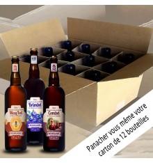 Colis composition 12 bières 12x75cl