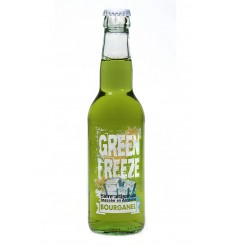 Green Freeze, bière Bourganel à la Verveine